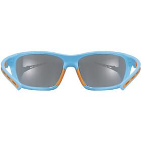 UVEX Sportstyle 229 Glasses blue/mirror blue